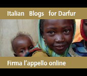 Italian Blogs for Darfur