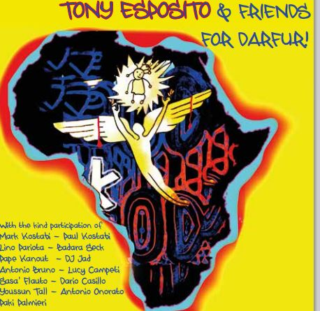 Album Tony Esposito per Italians for Darfur