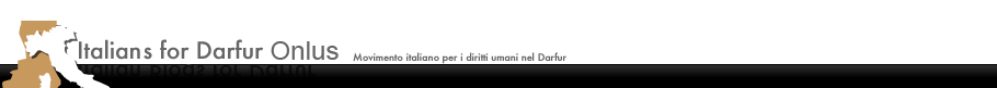 Logo Italian Blogs For Darfur